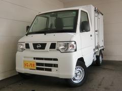 NT100クリッパートラック冷蔵冷凍車 −25℃ 2コンプ サイド扉 プラスノコ 5速