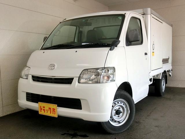 トヨタ 冷蔵冷凍車 -7℃ サイドドア 4WD 5速 積載650kg