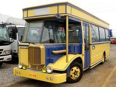 ローザ28人乗りバス 自動ドア モケットシート 5MT Nox適合