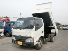 ダイナトラック平 ダンプ 3t 5速 全低床 極東開発 4ナンバー 3方開