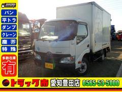 ダイナトラック アルミバン 垂直Pゲート 2t 5速 全低床 サイド扉(トヨタ)