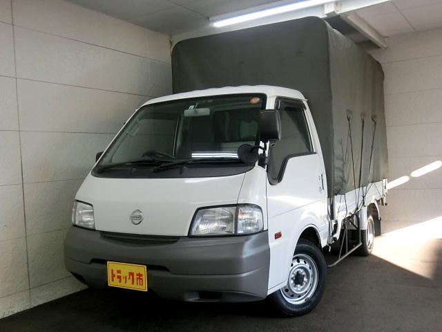 日産 幌付き DX スーパーロー 積載850kg AT車 Bカメラ