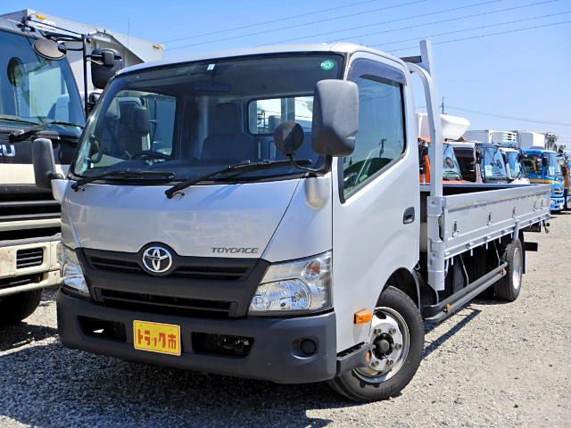 トヨタ 平 3.5t積 17尺 超ロング ワイド 3方開 6MT