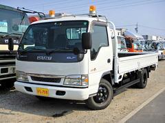 エルフトラック平 3.5t ワイドロング 13尺 ブル積み 重機運搬 6速