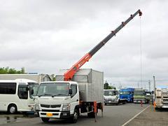 キャンターアルミV 6段クレーン Rジャッキ Pゲート ワイド AT車