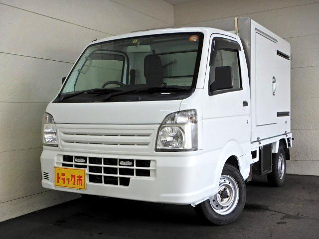 スズキ 冷蔵冷凍車 -20℃ サイドドア AT車 スノコ Bカメラ