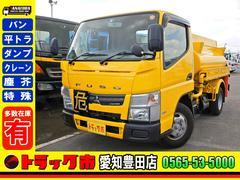 キャンタータンクローリー 2KL AT車 第二石油類・第三石油 4WD