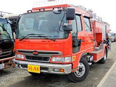 レンジャー消防車 水槽1500L ポンプ付  6MT 6人乗 Rヒータ