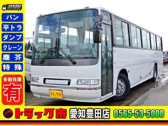 日野 観光バス リアーエンジン 57人乗り 自動ドア エアサス