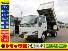エルフトラック ダンプ 2t 高床 3方開 5速 極東開発 準中型免許(いすゞ)