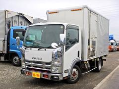 エルフトラックアルミバン 2t セミロング ワイド サイドドア AT車