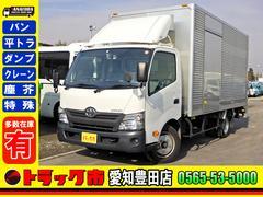 ダイナトラック アルミバン Pゲート サイドドア 2t ワイドロング 全低床(トヨタ)
