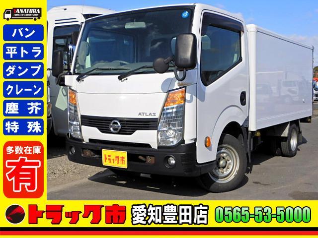 日産 保冷車 1.5t リア観音開き 5MT 4ナンバー