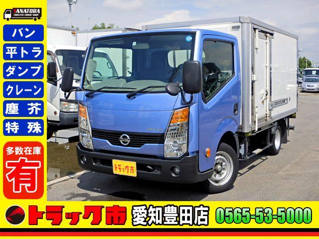 日産 冷蔵冷凍車-30℃ 保冷室有り 2室式 サイドドア 5MT