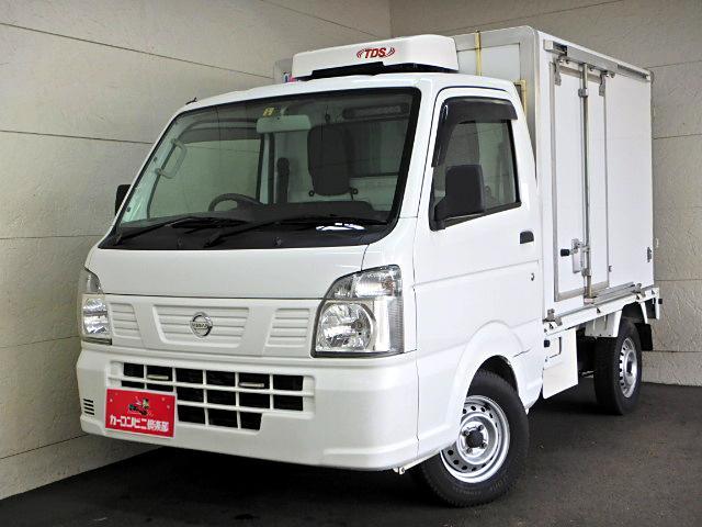 日産 冷蔵冷凍車-30℃ サイド扉  スノコ AT車 Bカメラ