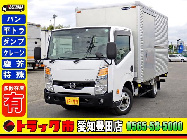 日産  アルミバン サイドドア 4WD ドラレコ キーレス 保証書 1.25t 小型 5MT