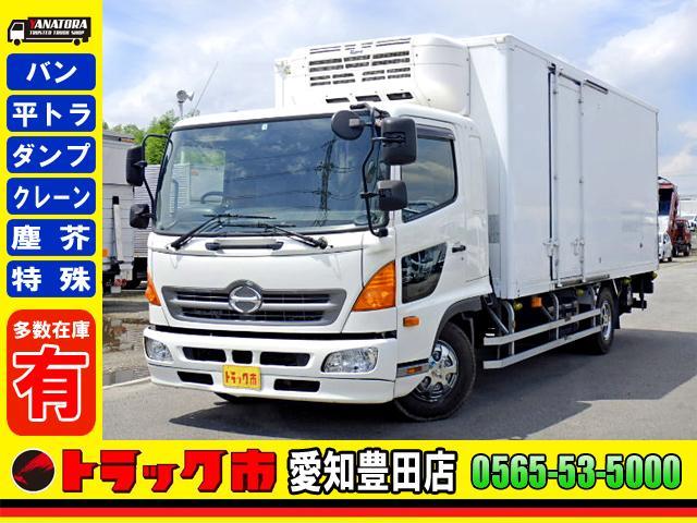 日野  冷蔵冷凍車 -5℃設定 パワーゲート サイドドア ETC 2.6t 中型 6MT