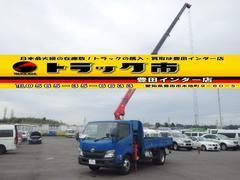 ダイナトラック平 5段クレーン ラジコン付 2.9t吊 3t 6速