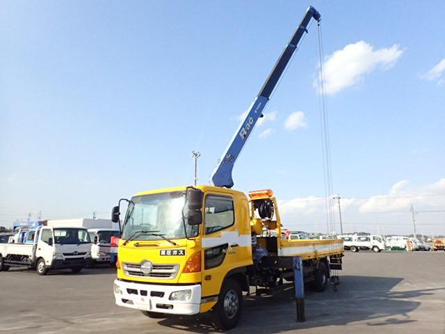 日野 平 4段 クレーン 2.93t吊り タダノ 4.2t積