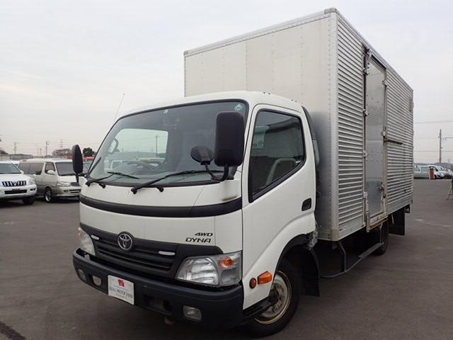 トヨタ アルミバン 4WD Pゲート ワイドロング 2t Bカメラ