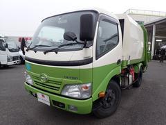 デュトロパッカー車 プレス式 2t AT 容積4.3立米 汚水タンク