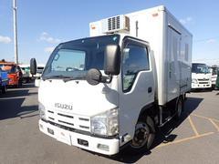 エルフトラック冷蔵冷凍車 中温 1.5トン 5速MT 4WD サイド扉
