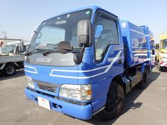 エルフトラックパッカー車 回転板式 4.3立米 2トン 5速MT 新明和