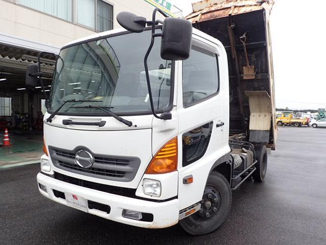 日野 4トンダンプ 電動コボレーン 3.9t 標準幅 6MT