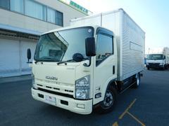 エルフトラックアルミバン 3トン AT 天然ガス車 バックカメラ