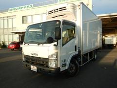 エルフトラック3t 低温冷凍車 −30℃設定 ワイドロング 2室式 6MT