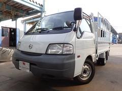 バネットトラック平ボディ 1トン オートマ 低床 ガソリン車 垂直Pゲート