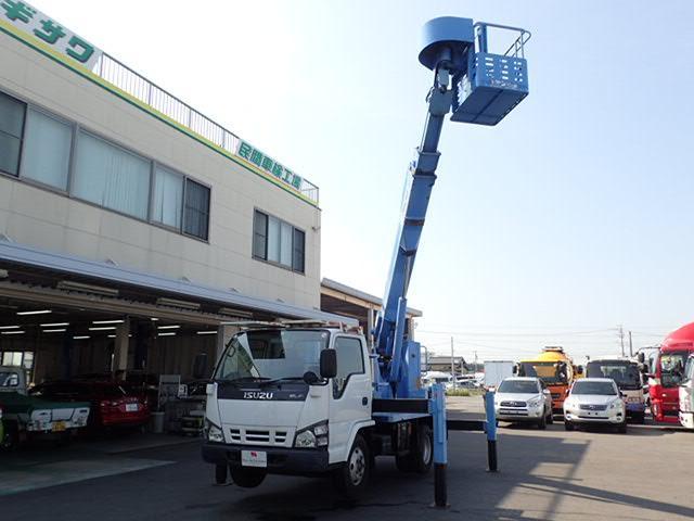 高所作業車 アイチ製 作業高12.6M 5MT 上物同年式(1枚目)