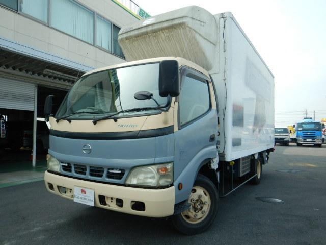 日野 冷凍車 2.5トン 6MT パワーゲート ワイドロング