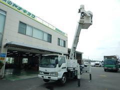 アトラストラック高所作業車 作業高14.6M アイチ製 5MT バックカメラ