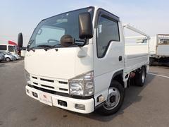 エルフトラック平 3トン 5速MT 全低床 パワーゲート 4WD