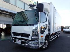 ファイター冷蔵冷凍車 低温 2.5トン 6MT パワーゲート サイド扉