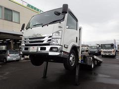 エルフトラック積載車 アウトリガー 3.35トン 6MT ワイド 超ロング
