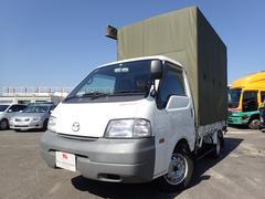 ボンゴトラック小型 幌付き 平ボディ 積載量850kg 5速MT ガソリン