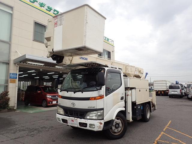 トヨタ アイチ製高所作業車 作業高14.6M バケットFRP