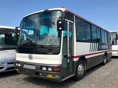 三菱ふそう37人乗バス フルエアサス 自動ドア 5MT バックカメラ