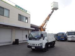 エルフトラックタダノ製 高所作業車 作業高8メートル 5MT 工具箱付き