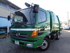 レンジャープレス式 パッカー車 8.2立米 連続動作 汚水タンク 2t
