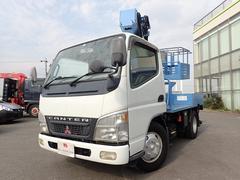 キャンターアイチ製 高所作業車 作業高9.7M 5MT ターボ