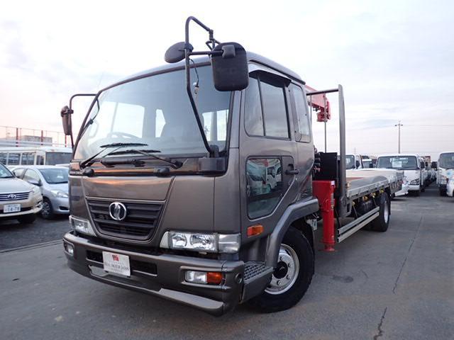 UDトラックス 平 ユニック 4段クレーン 2.7トン 6MT ラジコン