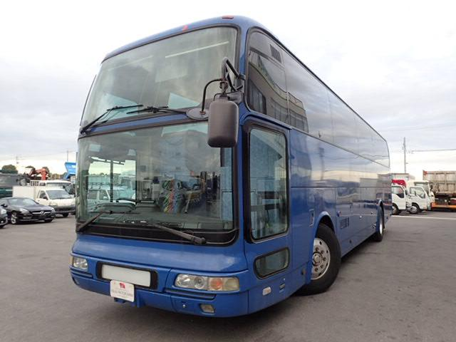三菱ふそう 大型 47人乗りバス スーパーハイデッカー 貫通トランク2本