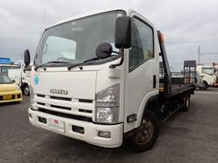 エルフトラック積載車 1台積 4WD 3トン AT ウィンチ付 ターボ