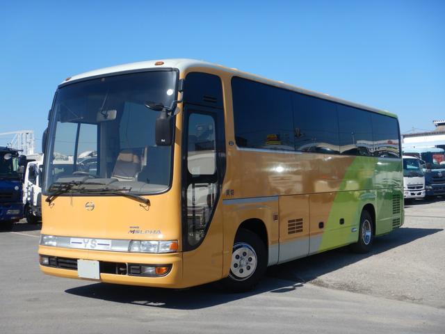 日野 29人乗りバス ハイデッカー 貫通トランク2本 総輪エアサス