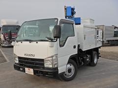 エルフトラックアイチ製 8M 高所作業車 5MT 4WD FRPバケット