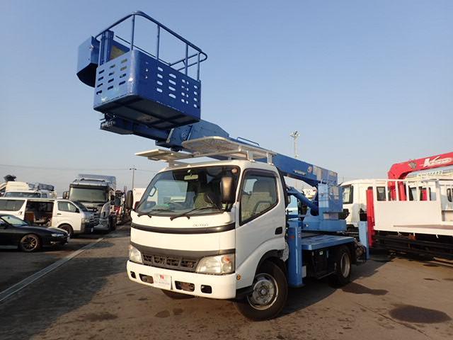 日野 アイチ製 高所作業車 16メートル 屈折ブーム ワイドキャブ
