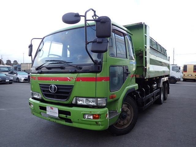 UDトラックス ミニ大型ダンプ 11.3トン 6MT 2デフ 電動コボレーン